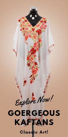 Buy Kaftans from Kashmir