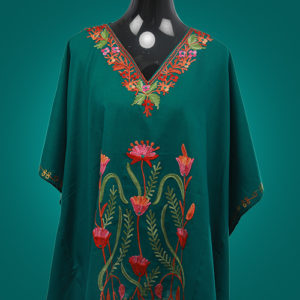 Bottle Green Kaftan