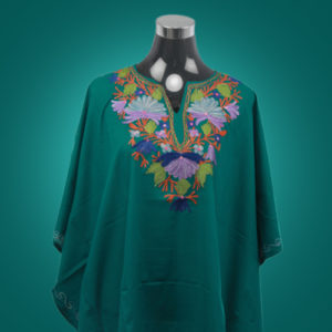 Green Kaftan Top
