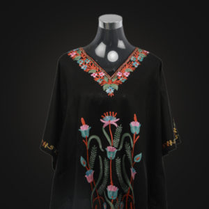Black Kaftan Top