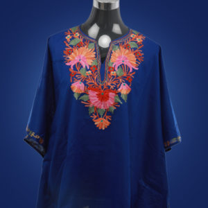 Short Blue Kaftan