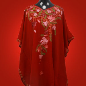Scarlet Red Kaftan