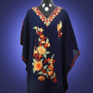 Denim Blue Kaftan