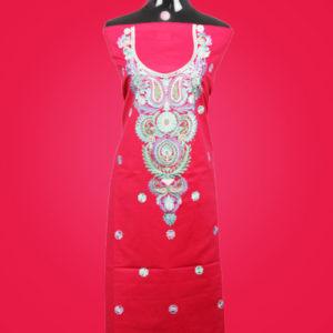 Pink Kashmiri Suit