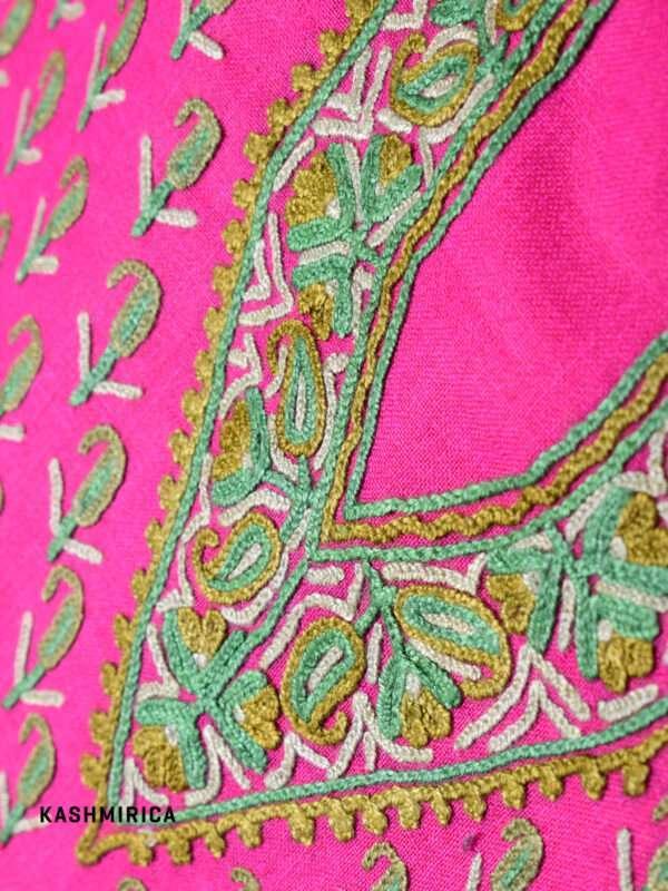 Pink Jamawar Suit (19)