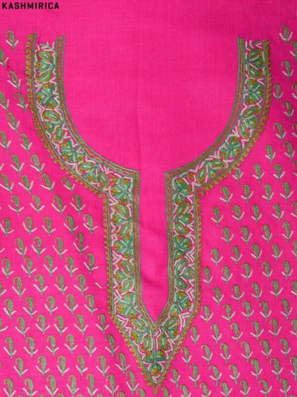 Pink Jamawar Suit (8)
