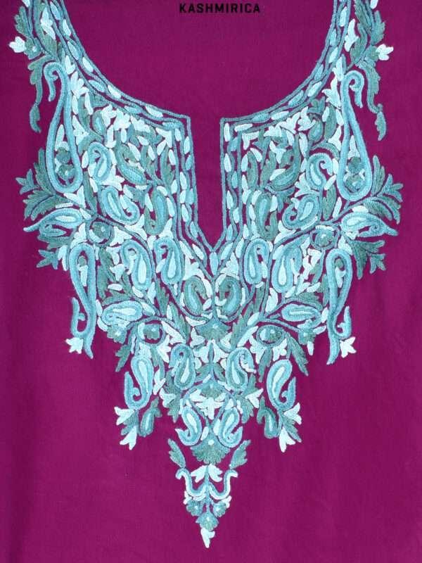 Purple Kashmiri Suit (1)