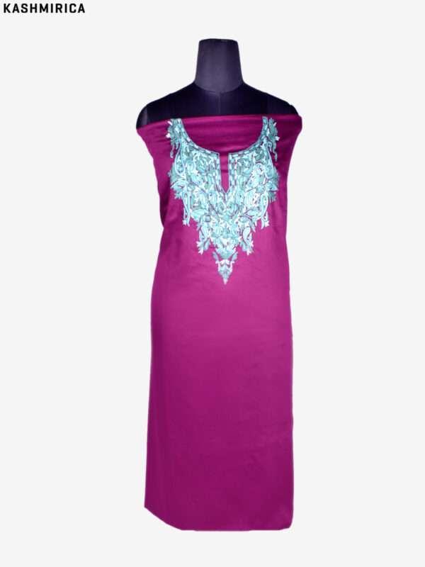 Purple Kashmiri Suit (2)