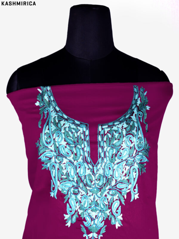 Purple Kashmiri Suit (3)