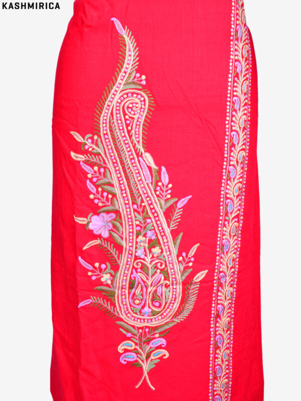Red Kashmiri Suit (1)