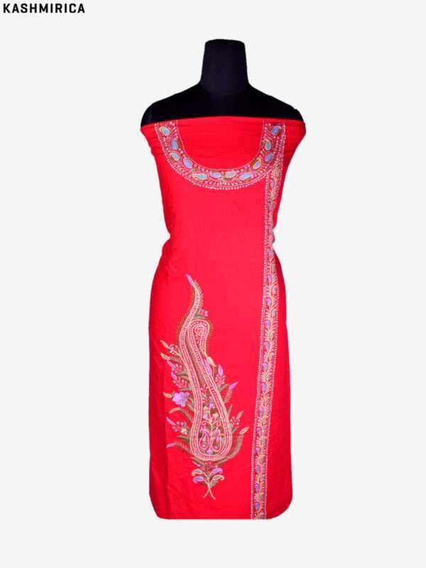 Red Kashmiri Suit (3)