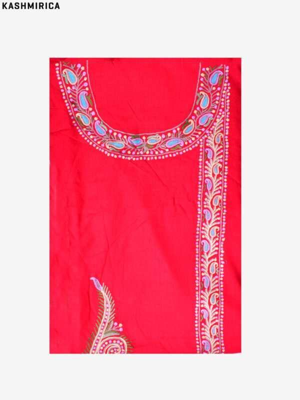 Red Kashmiri Suit (4)