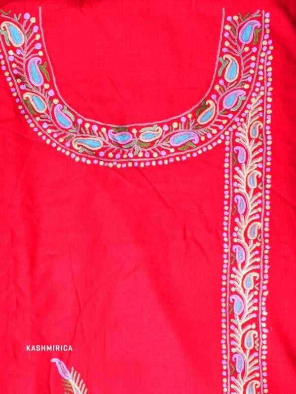 Red Kashmiri Suit