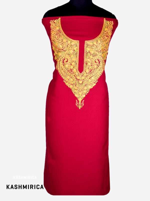 Red Salwar Kameez 1