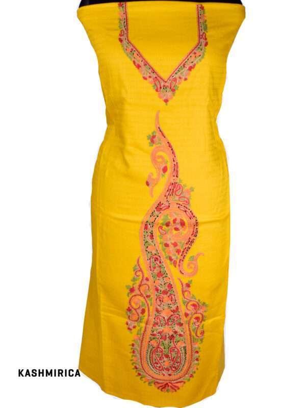 Yellow Kashmiri Suit 2