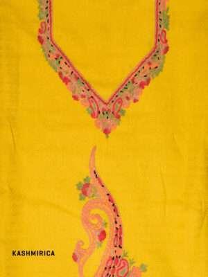 Yellow Kashmiri Suit