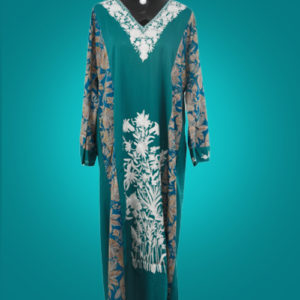 Ocean Blue Abaya
