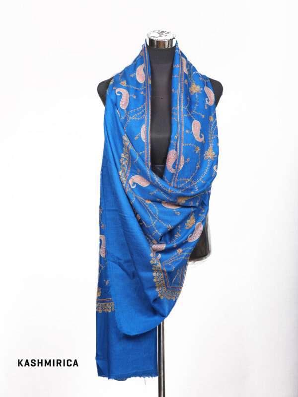 Blue Pashmina Shawl