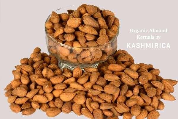 Organic Almond Kernals