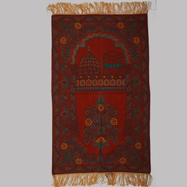 Imane Handmade Prayer Rug 3