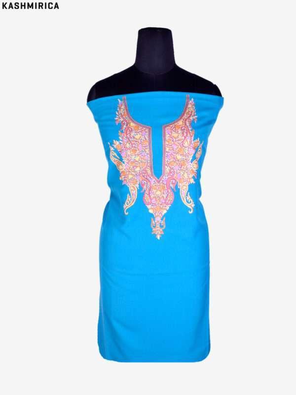 Blue Kashmiri Suit (1)