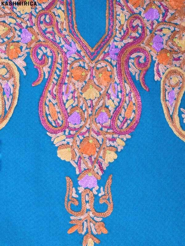 Blue Kashmiri Suit (2)