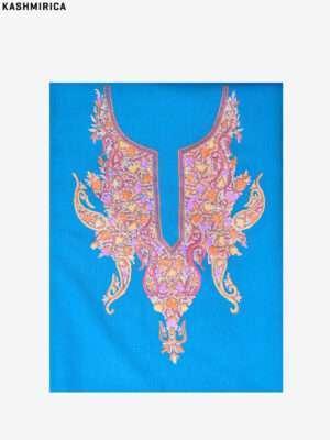 Blue Kashmiri Suit (3)