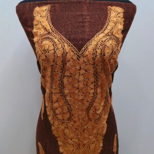 Walnut Brown Kashmiri Design