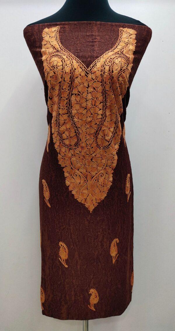 Walnut Brown Kashmiri Suit