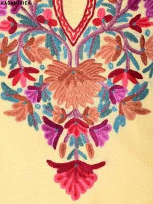 Cream Kashmiri Suit (2)