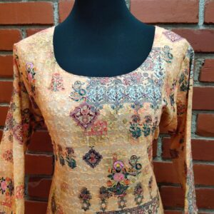 Light Brown Kurti