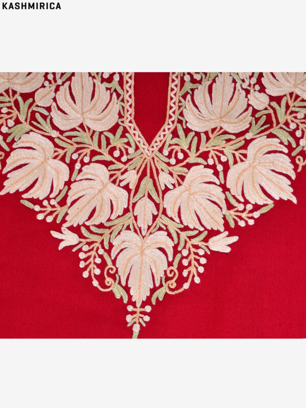 Maroon Kashmiri Suit (2)