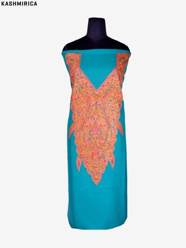 Sea Green Kashmiri Suit (2)