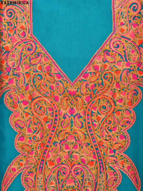 Sea Green Kashmiri Suit (3)