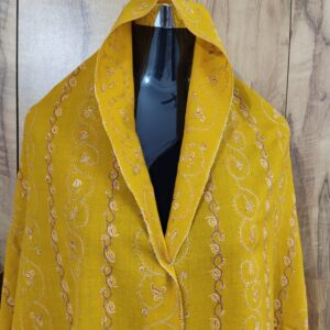 Yellow Pashmina Shawl