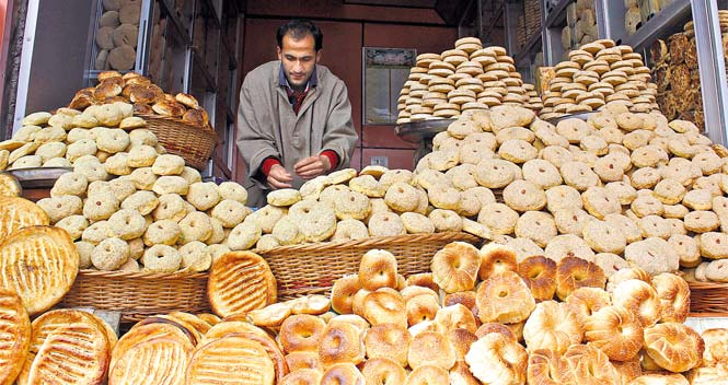 Breads of Kashmir