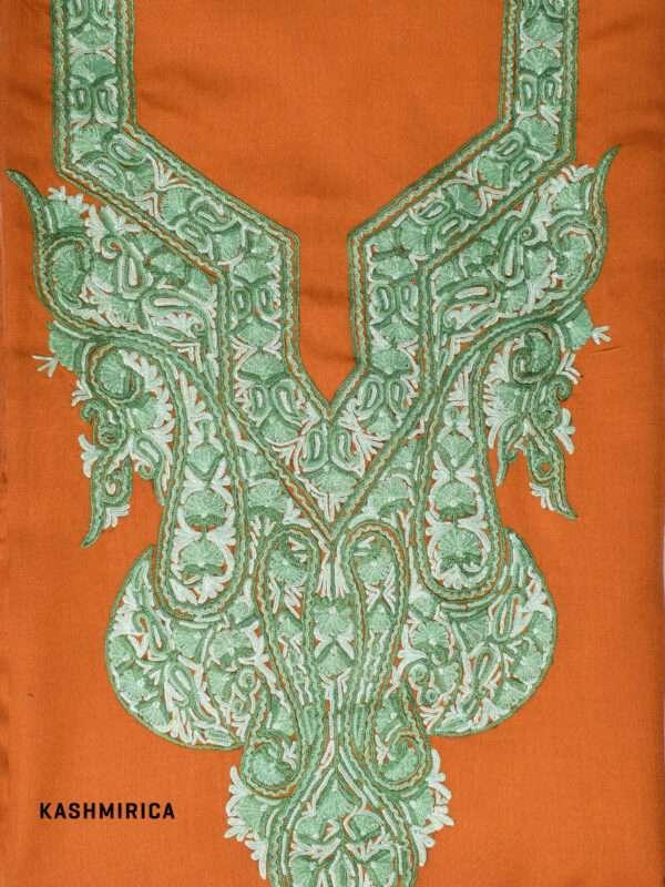 Coral Kashmiri Suit