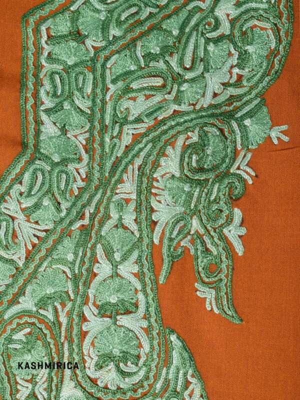 Coral Kashmiri Suit 1