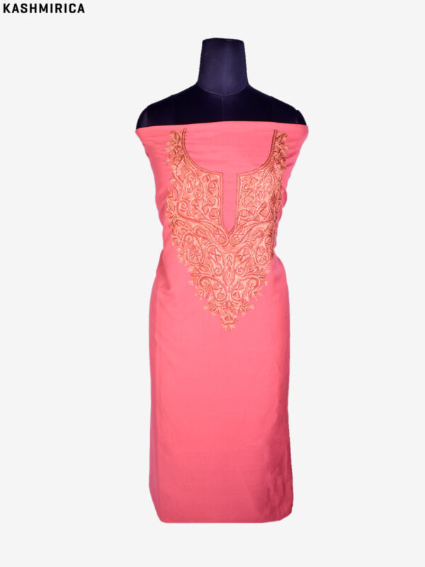 Peach Kashmiri Suit (1)