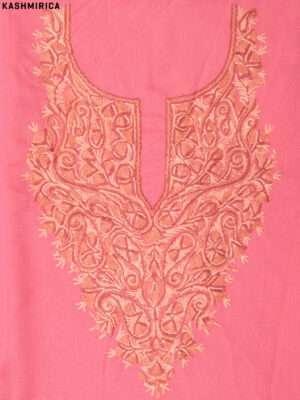 Peach Kashmiri Suit (3)