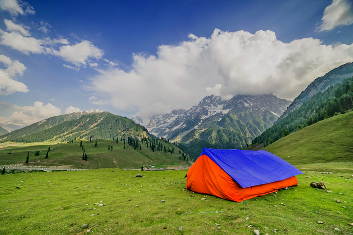 Camping in Sonmarg