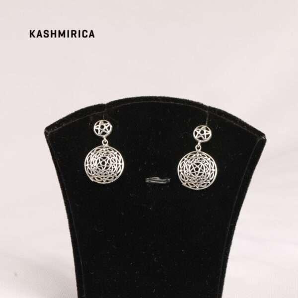 Ghazi Earrings White
