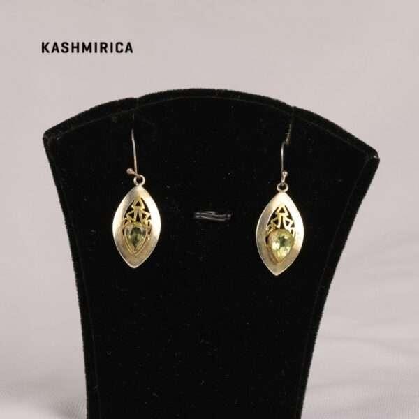 Basir Earrings White