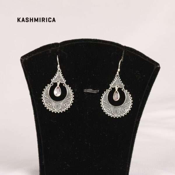 Jadirah Earrings White