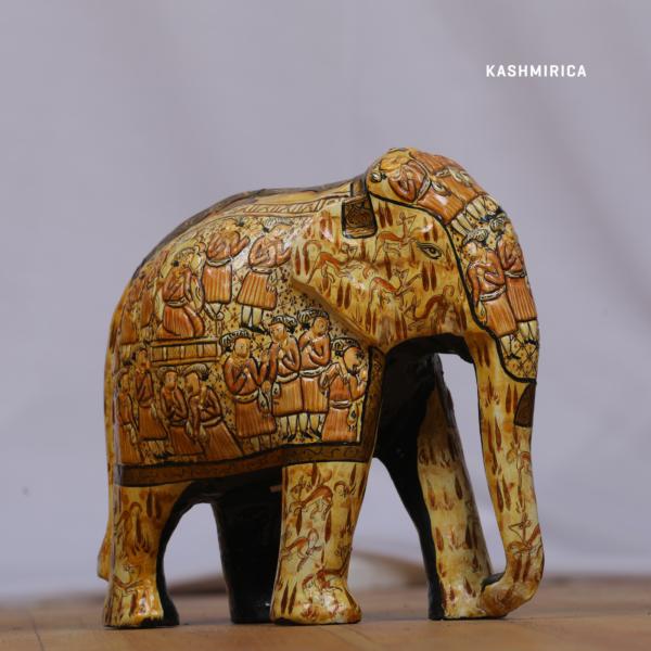 Paper Mache Elephant 3D