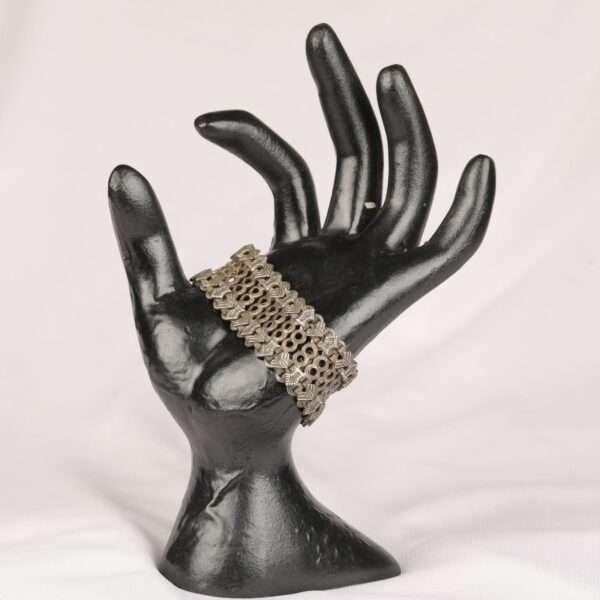 Parisa Bracelet Black and White