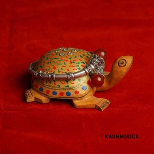 Qamr Bangle Red