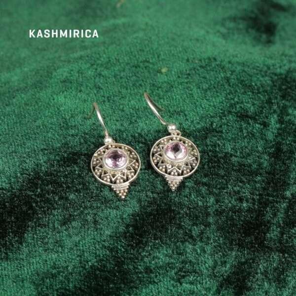 Bardia Earrings Green