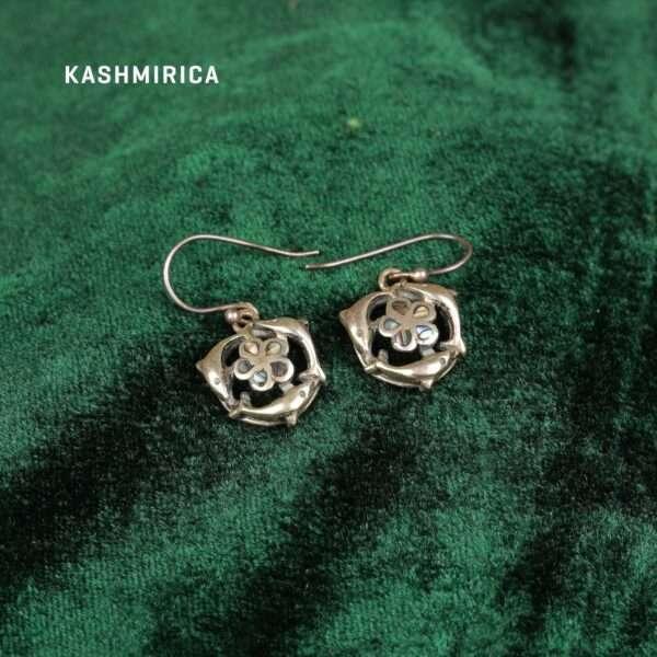 Dhamak Earrings Green