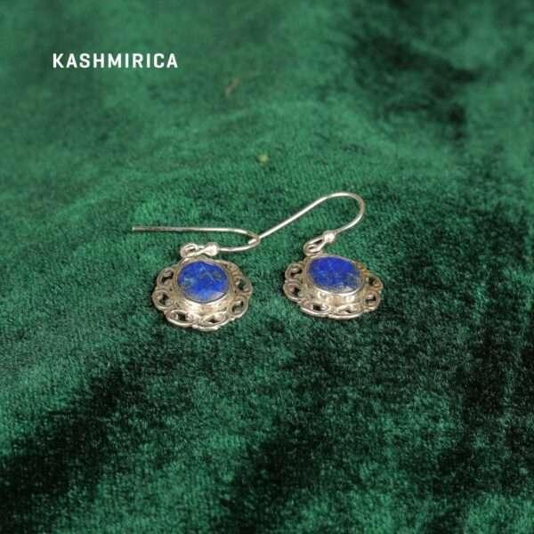 Kamyar Earrings Green